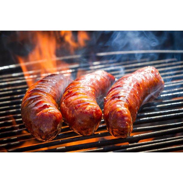 Lækker Grill-buffet på panorama terrasse